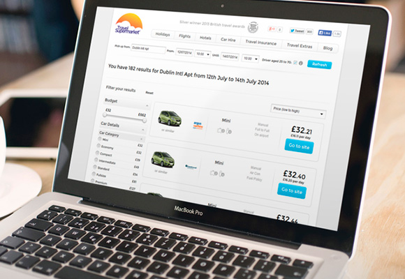 Travelsupermarket.com screenshot 3